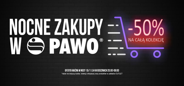 Zakupy w e-sklepie PAWO. Taniej o 50%
