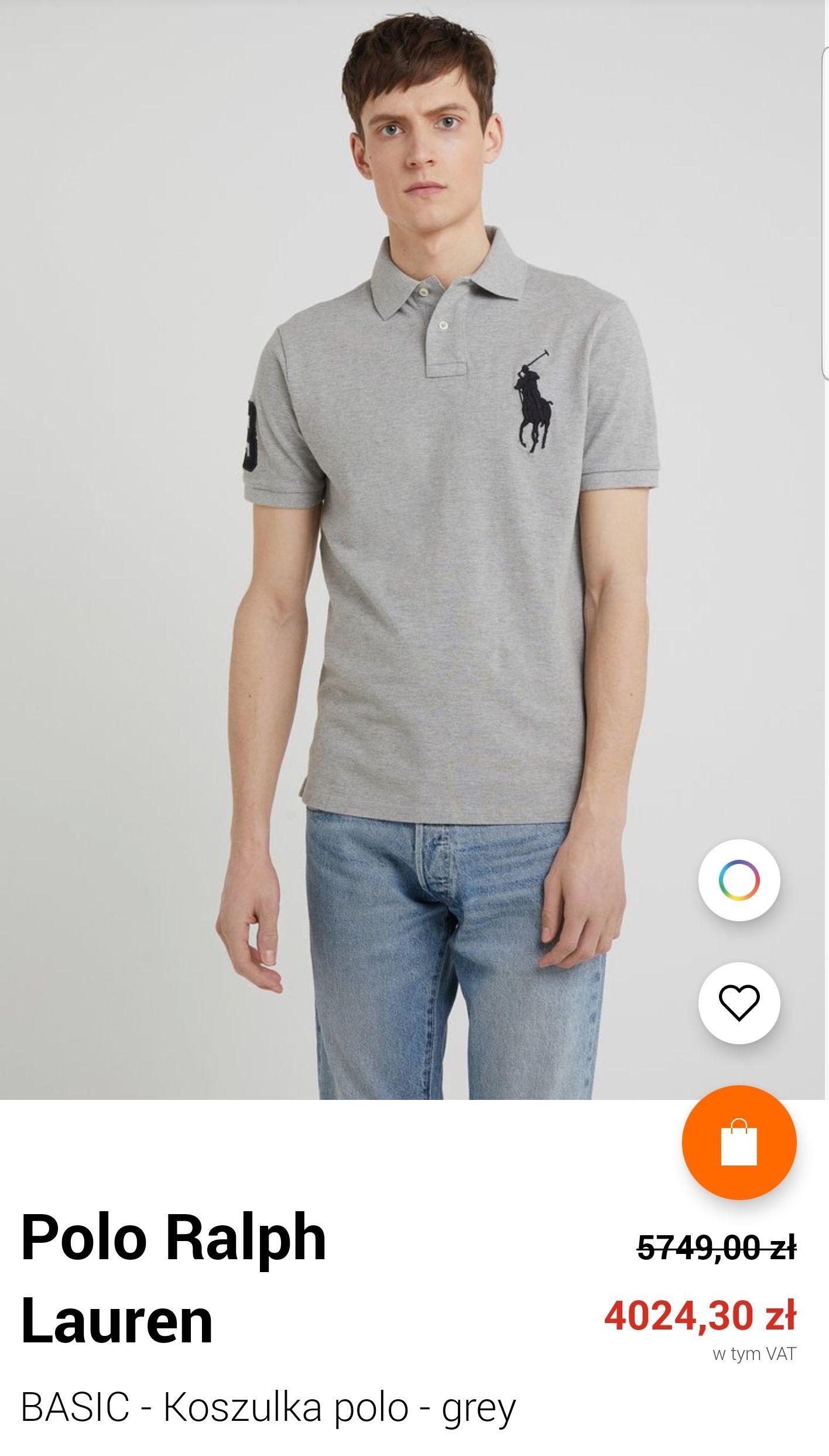 Polo Ralph Lauren-BASIC - Koszulka polo - grey.  Zalando
