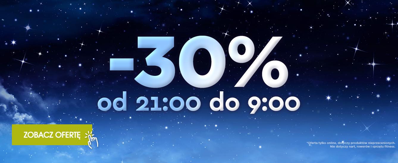 -30% w Go sport tylko do 9:00!