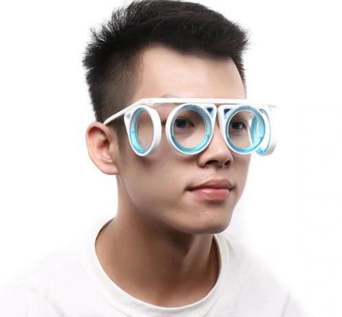 Okulary przeciwko chorobie lokomocyjnej