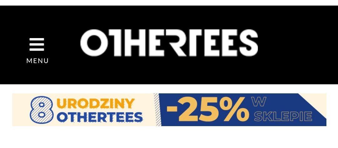 Othertees -25% na sklep i darmowa dostawa z kodem