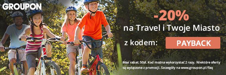 Groupon -20% z PAYBACK na Travel i Twoje Miasto.