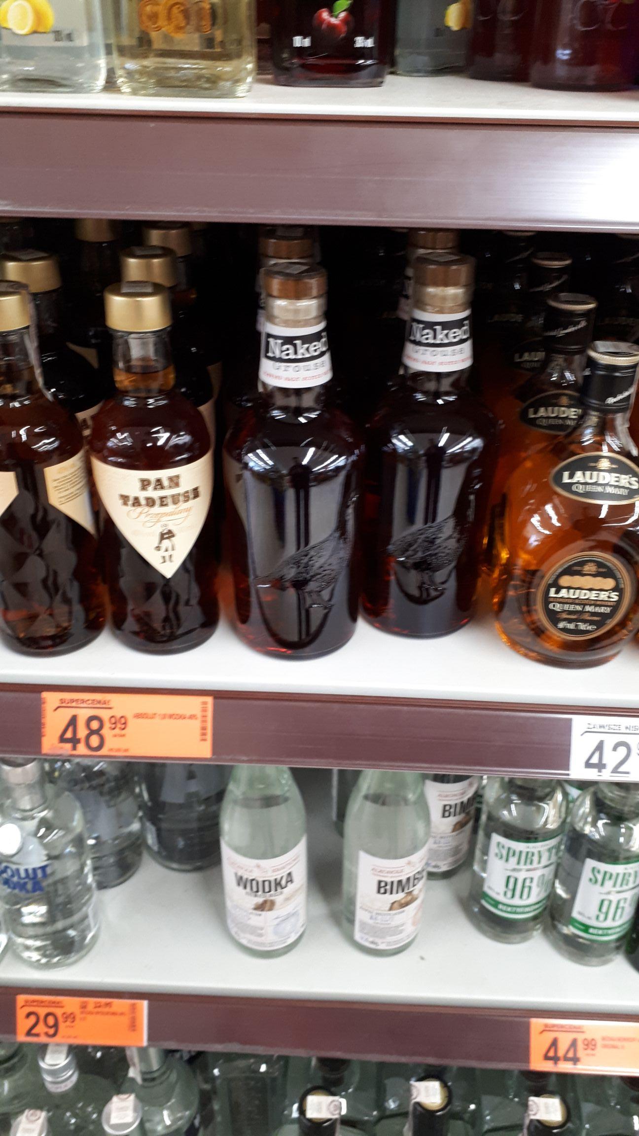 Whisky Famous Grouse Naked Grouse - blended malt 0,7 - biedronka Rzeszów