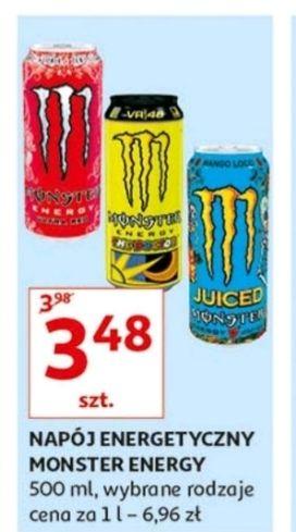 Monster Energy Drink 500ml Auchan WSZYSTKIE SMAKI