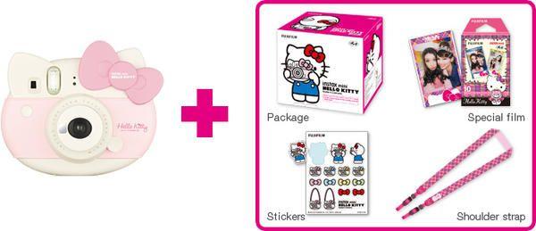 Aparat foto FujiFilm Instax Hello Kitty zestaw