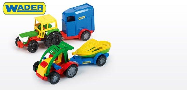 Traktor lub auto z przyczepą za 16,99zł @ Biedronka