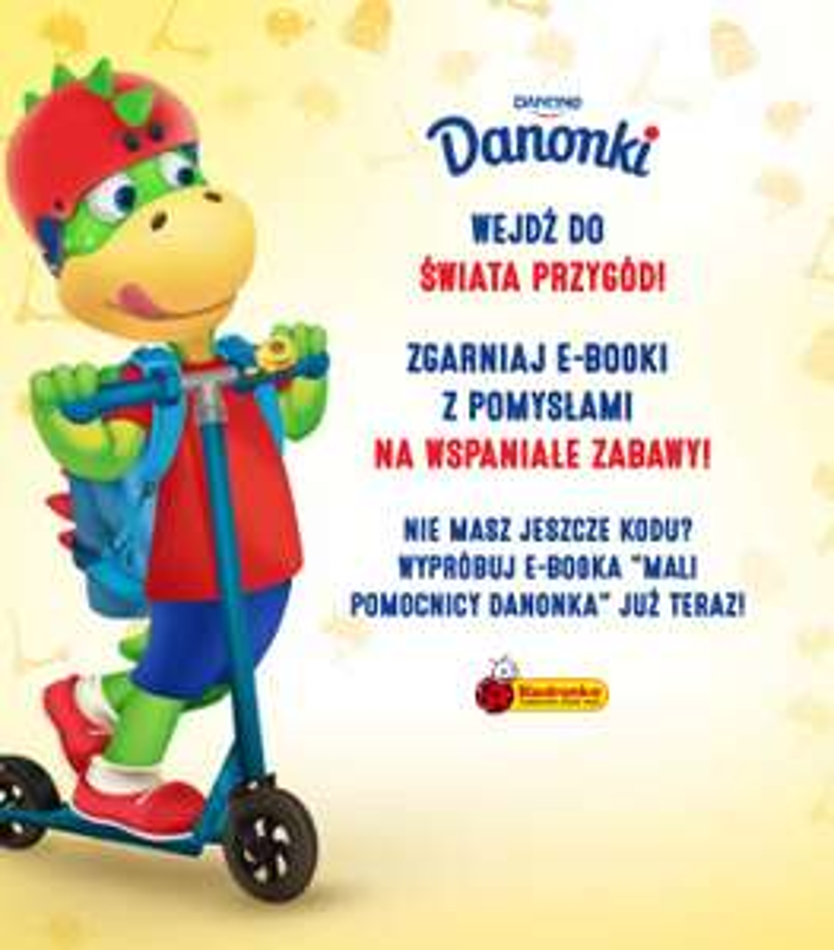 Kup Danonki w sieci Biedronka i odbierz E-book