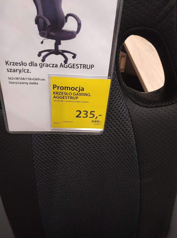 Promocja na krzesłą biurowe Jysk