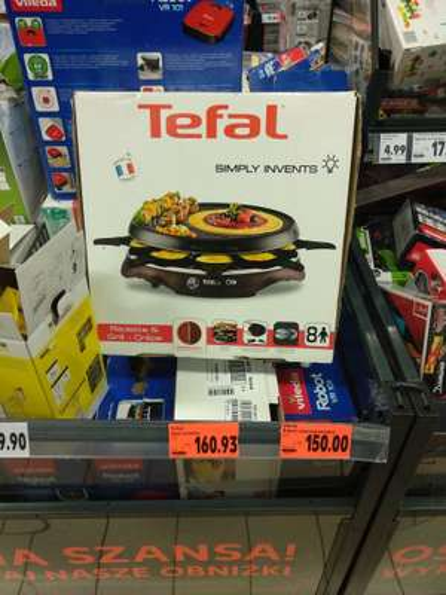 Grill elektryczny Tefal Raclette  RE6150