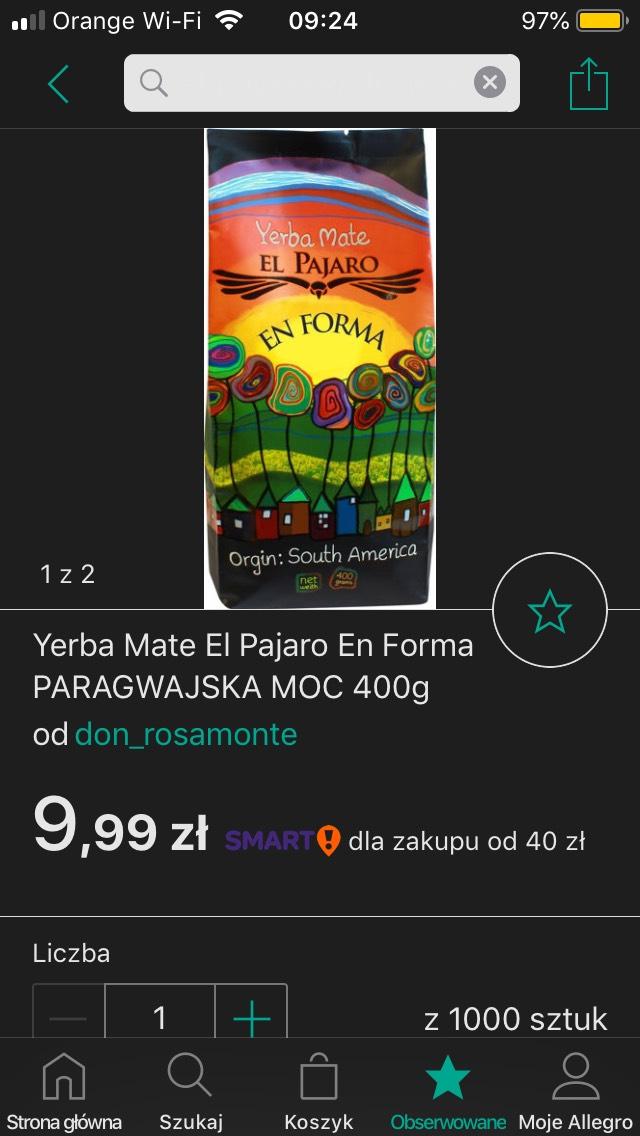 EL PAJARO EN FORMA 400g