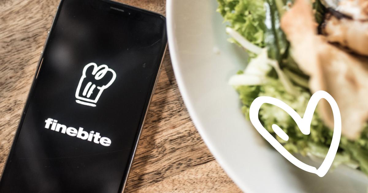 Obiad w restauracji za 50% z aplikacją FINEBITE