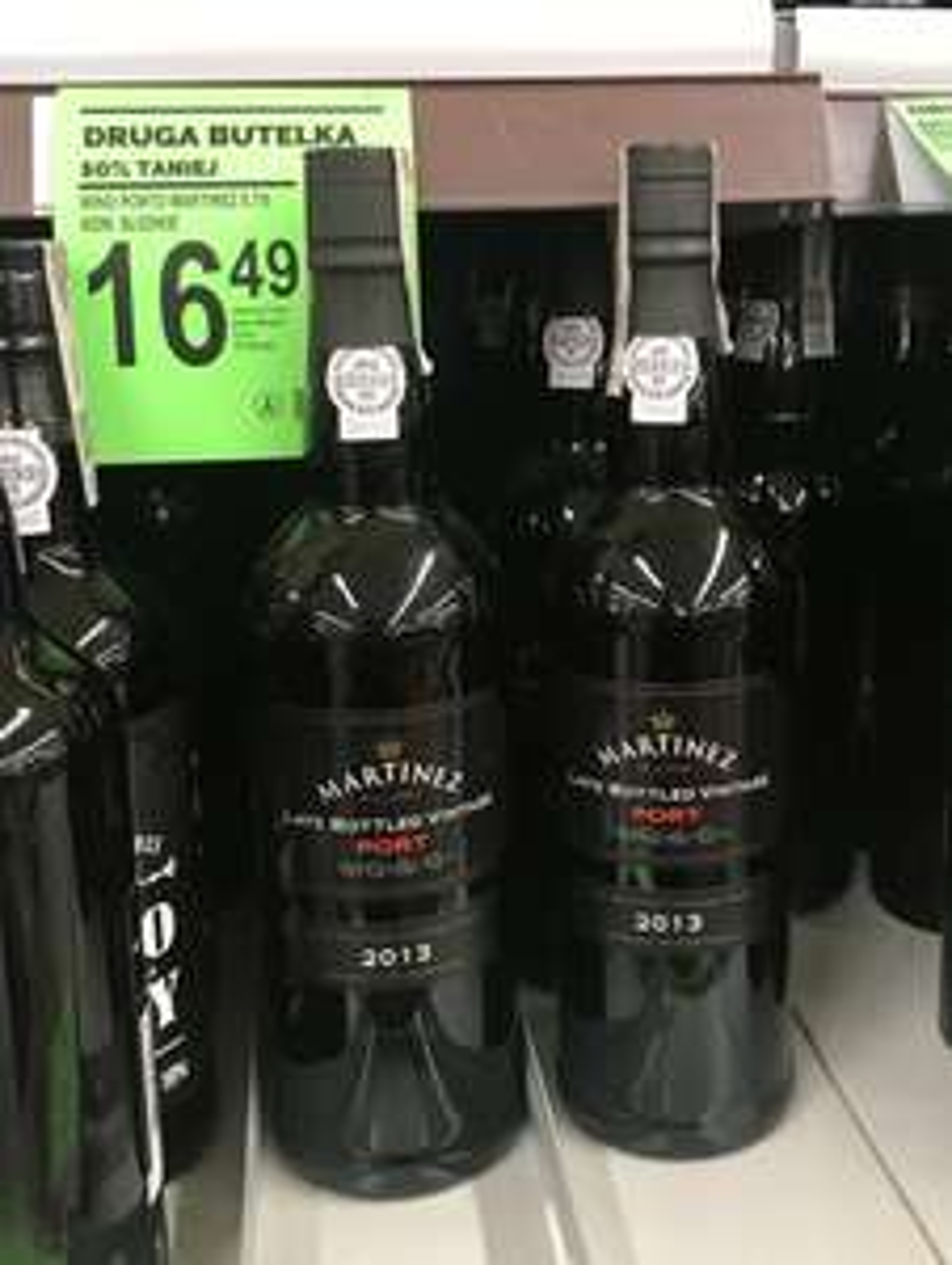 Błąd cenowy wino Porto Martinez @Biedronka?
