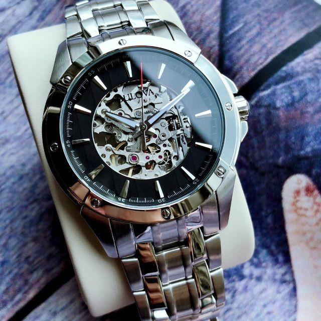 Zegarek Automatyczny Bulova 96A170  Skeleton