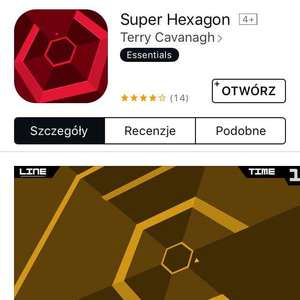 Super Hexagon free app of the week iOS