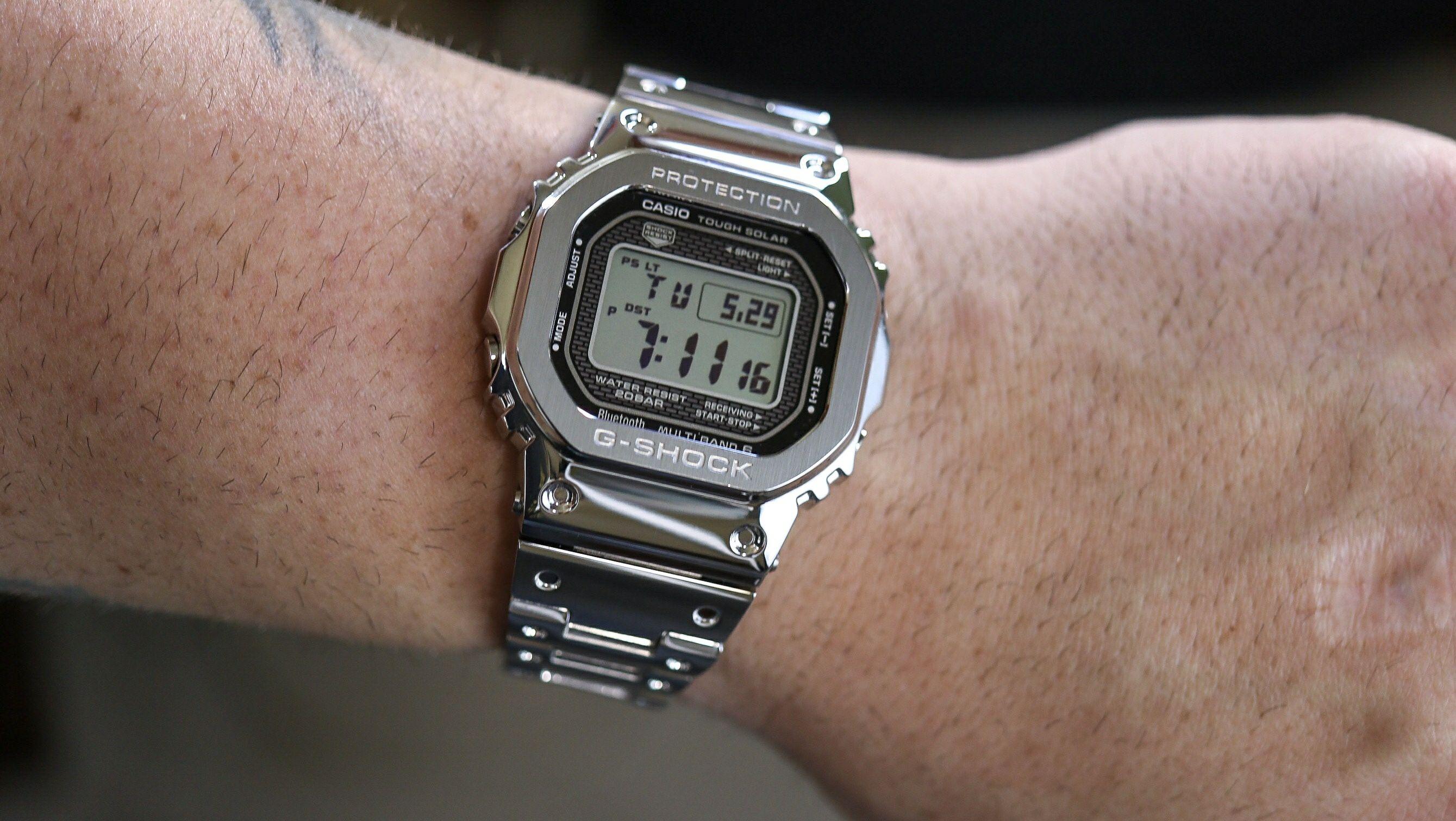 Zegarek CasioG-Shock GMW-B5000D-1ER Full Metal Case LIMITED