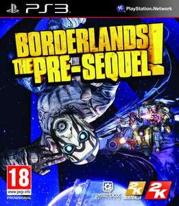 Borderlands: The Pre-Sequel + DLC PS3