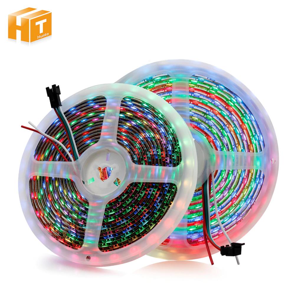 Taśma LED RGB WS2812B (diody indywidualnie sterowane, idealne do DIY Ambilighta)