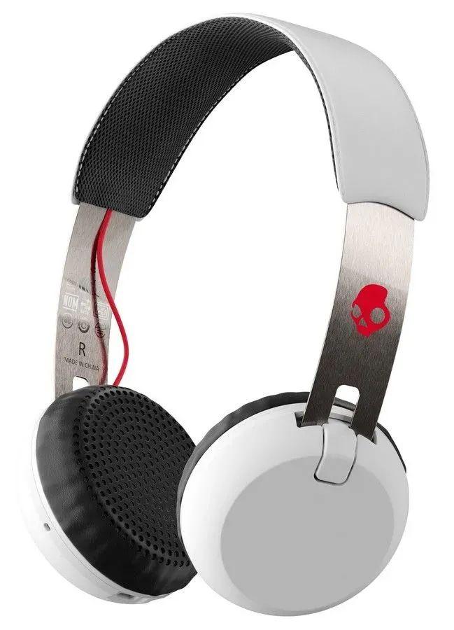 Bezprzewodowe słuchawki Skullcandy Grind Wireless białe w @mall.pl