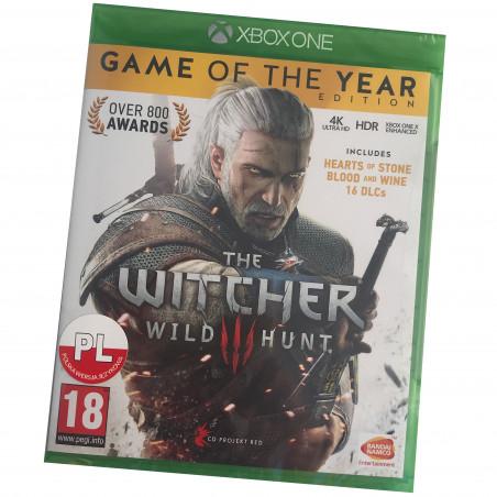 Wiedźmin3 Dziki Gon Edycja Gry Roku PO POLSKU Xbox One/PS4