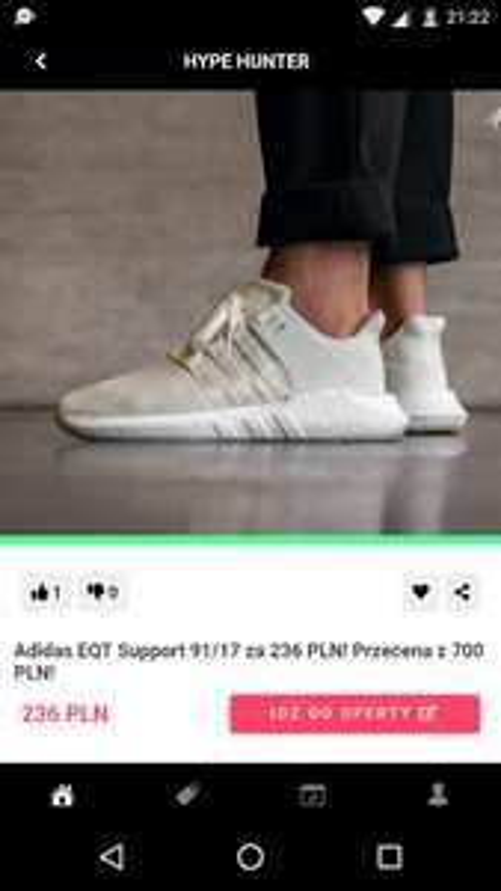 adidas Originals Męskie EQT Support 91/17