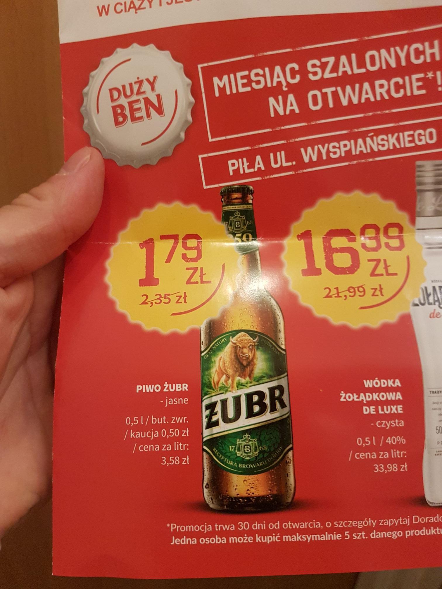 Bacardi 0,7L 39.99 zl. Zbiór NAPRAWDE TANIEGO alkoholu Wódka, Piwo, Rum, Bourbon, Whisky Piła