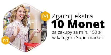 +10 Monet za zakup w Supermarkecie od 150 zł
