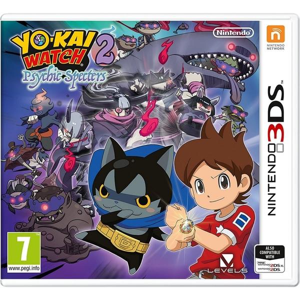 Yo Kai (Yo-Kai) Watch 2 Psychic Specters 3DS Game