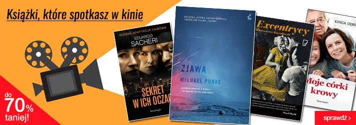 Zekranizowane książki do 70% taniej @ Świat Książki
