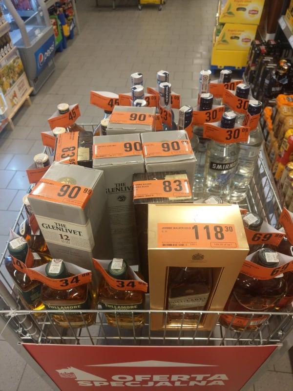 Alkohole w dobrych cenach - Netto
