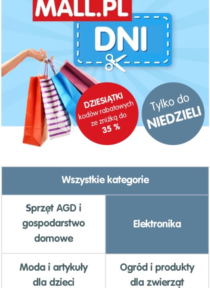 Do 35 % taniej, kupony rabatowe od @Mall.pl, wiele marek i produktów