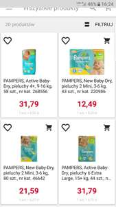 Rossmann Pampers active baby dry