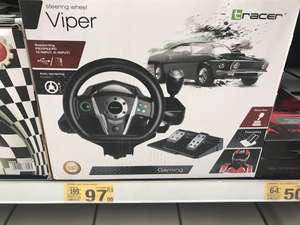 Kierownica Tracer Viper - PC / PS2 / PS3 - Auchan 3stawy