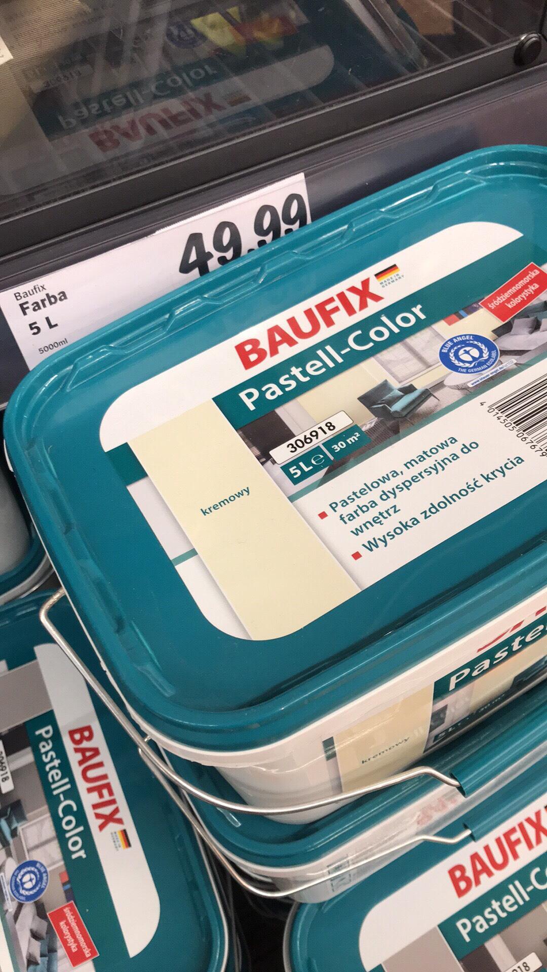 LIDL - Farba Baufix Pastell Color 5L
