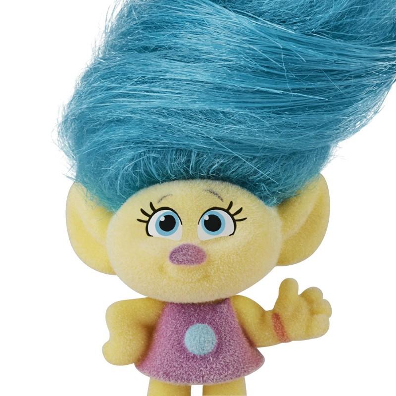 Trolls - Trolle z Szalonymi Włosami - lalka Tiny Smidge, Carrefour Białystok