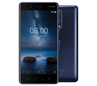 Nokia 8 + okulary VR Zeiss + etui Soft Touch (czarne)