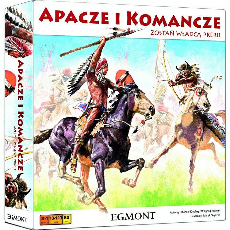 """Egmont """"Apacze i Komancze"""" gra planszowa. Smyk"""