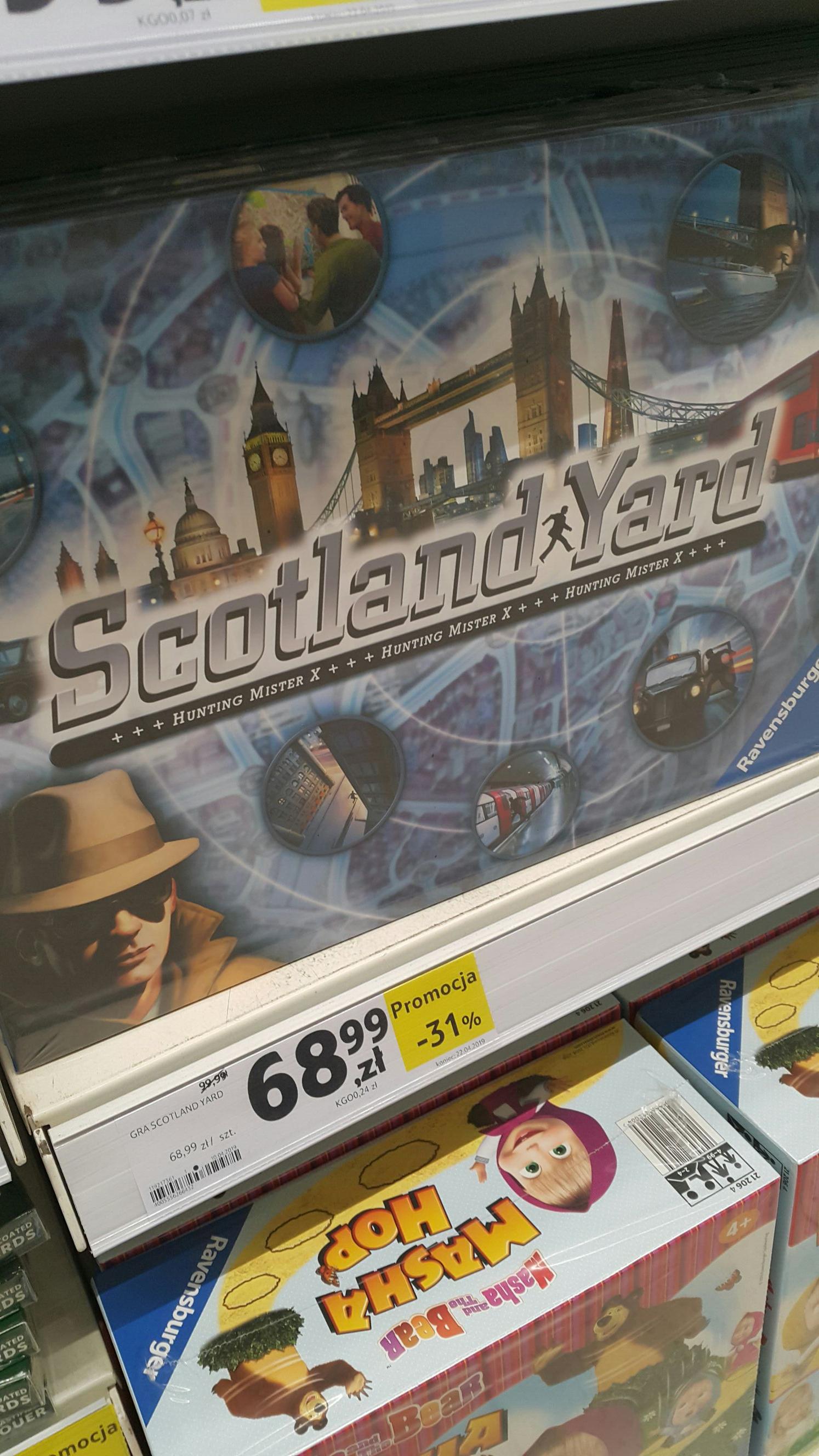 Gra planszowa Scotland Yard  - Tesco Stargard