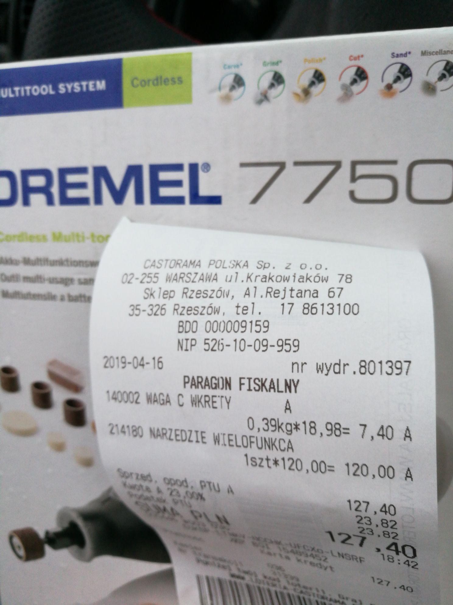 Dremel 7750 Castorama Rzeszów
