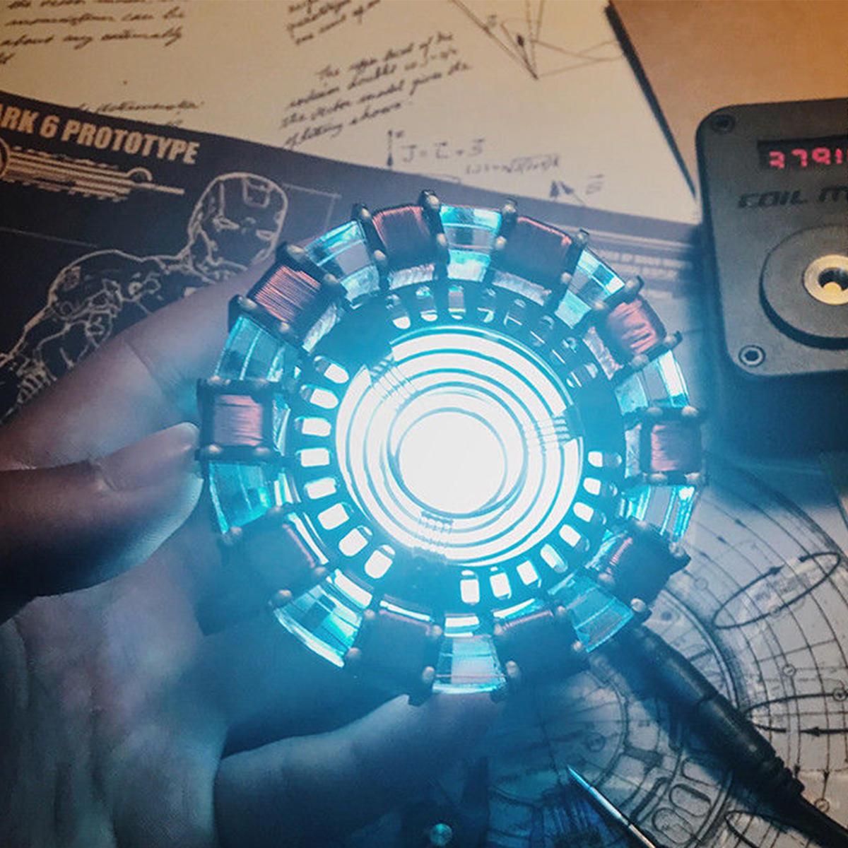 Lampka Led DIY Reaktor łukowy IRON MAN / TONY STARK $19.99