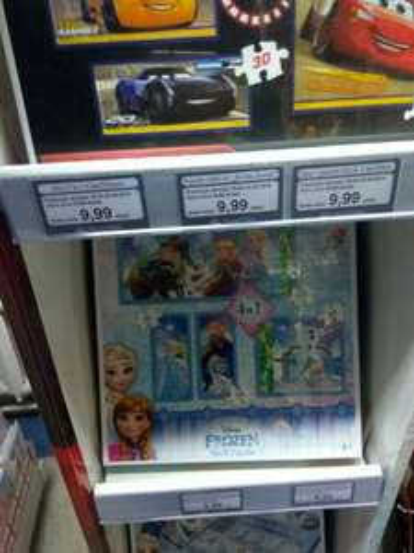 Gry i puzzle trefl Kraina Lodu i Auta / Cars i Frozen / Poczta Polska