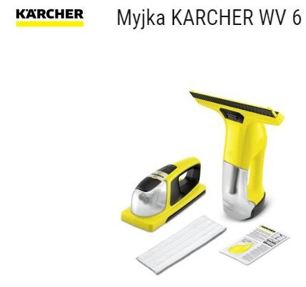 Myjka do okien Karcher WV 6 + KV4