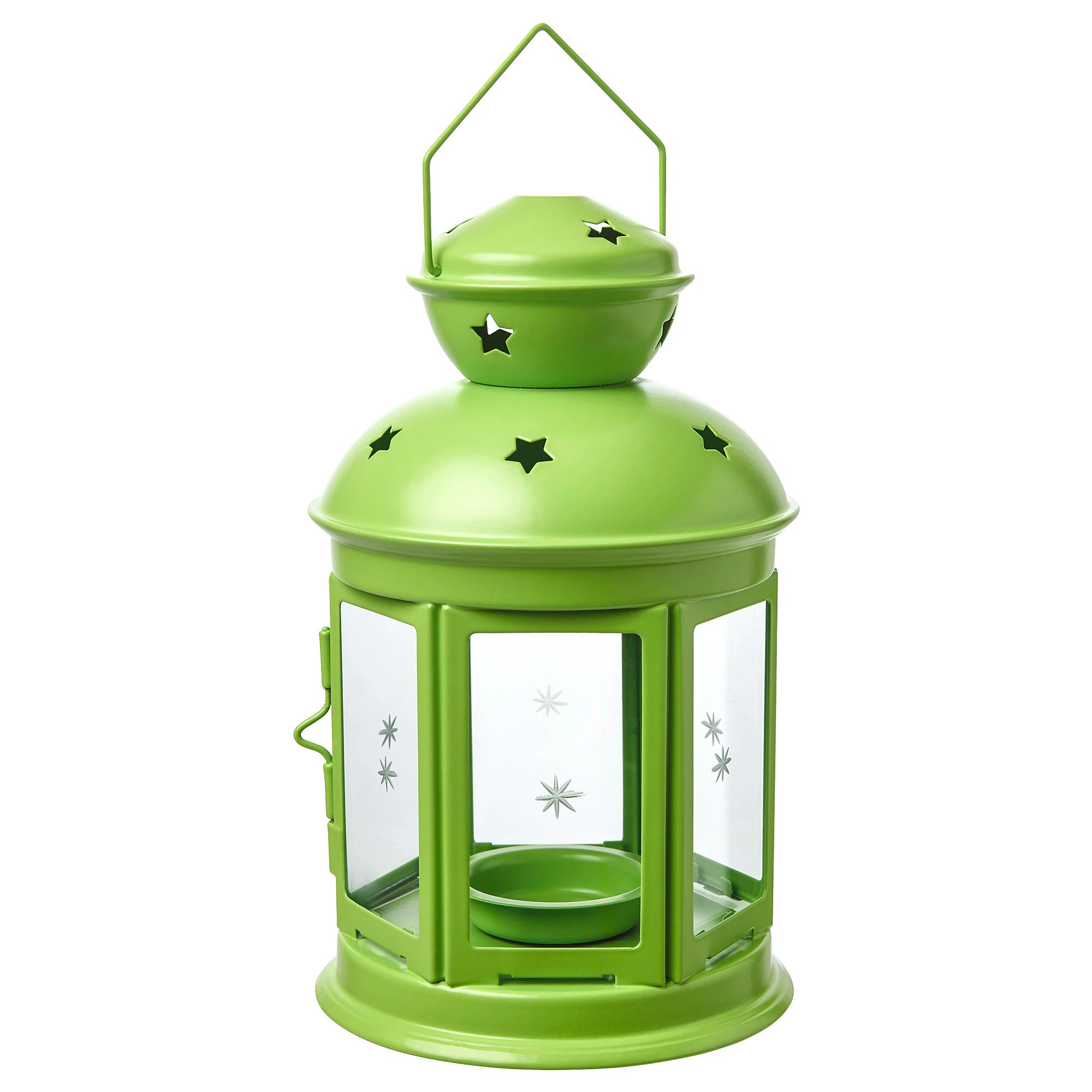 latarenka zielona IKEA