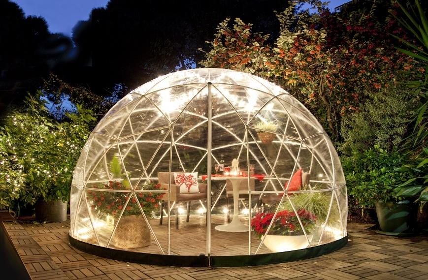 Pawilon ogrodowy Igloo 360, Makro