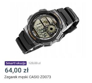 Zegarek męski CASIO ZD073 - Oferta dla klientów Allegro Smart