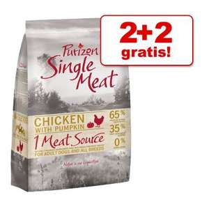 2 + 2 kg gratis! Purizon Single Meat, 4 kg