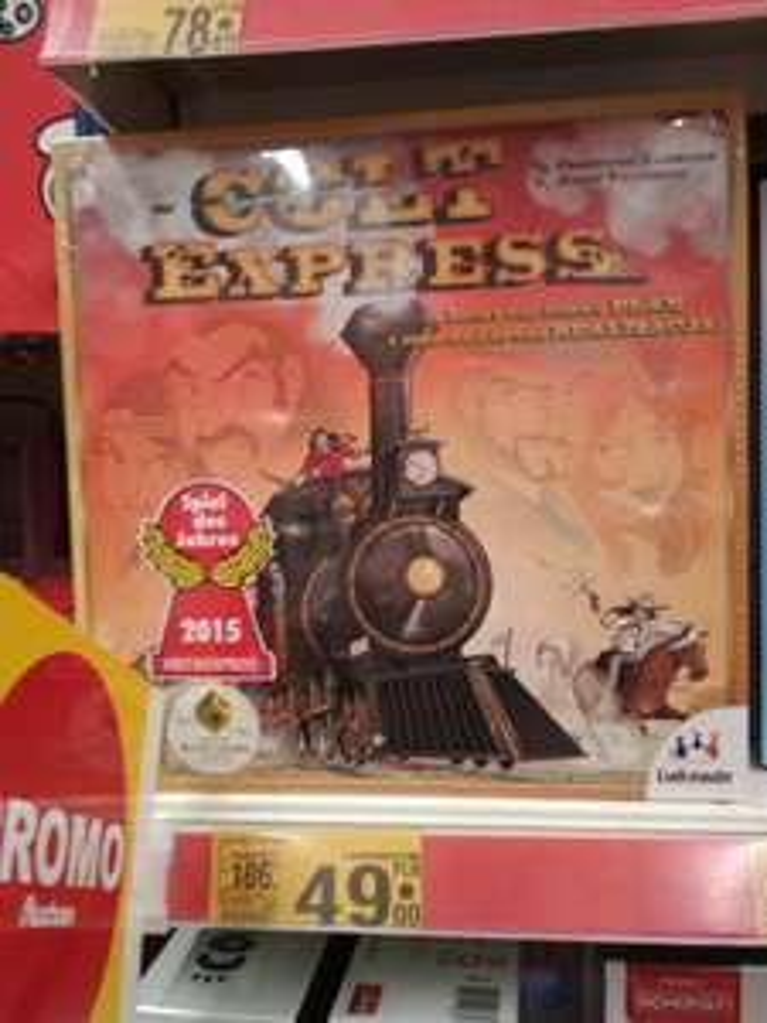 Gra planszowa Colt Express, Auchan Piotrków Trybunalski (pewnie lokalna)