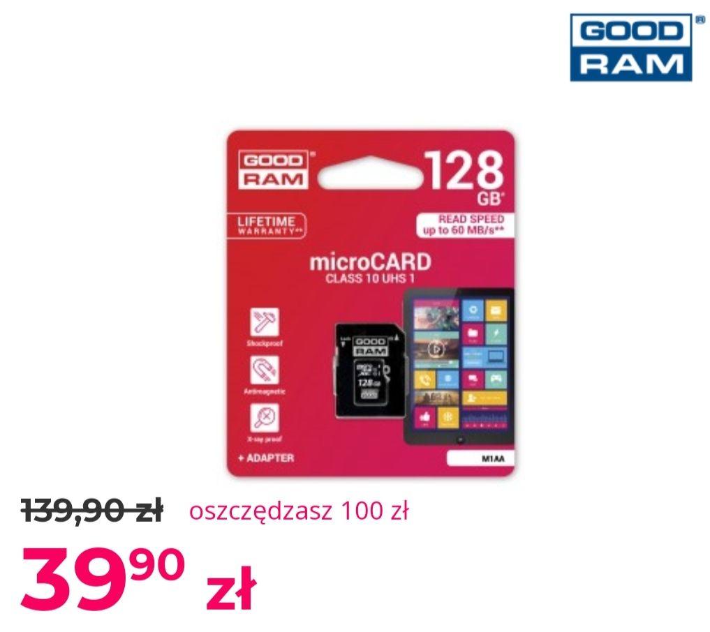 Karta pamięci GOODRAM microSDHC 128GB w @komputronik.pl