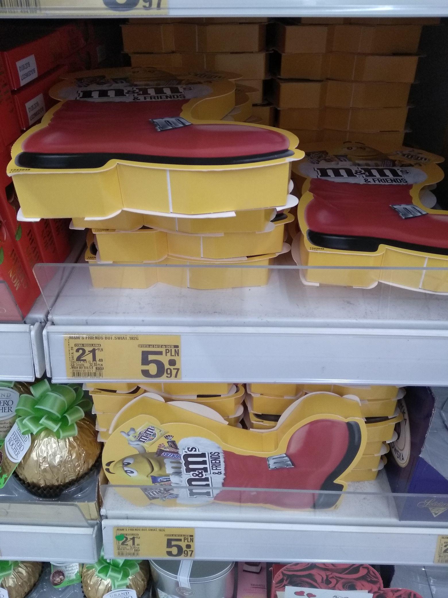 [Auchan Krokus] M&M's Friends But Świąteczny - 72%