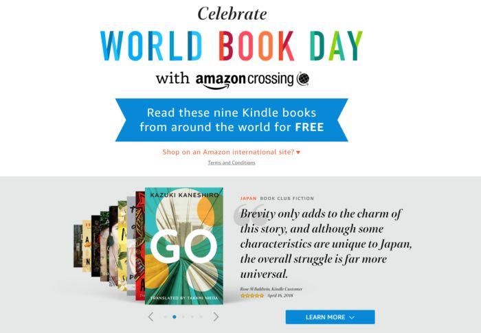 (ebook) Read The World - 8 darmowych ebooków z Amazon Kindle
