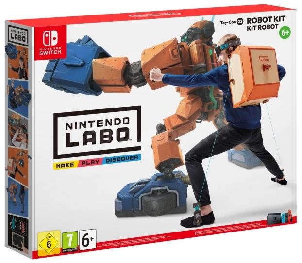 Nintendo Labo Robot Kit (NS) w Komputroniku